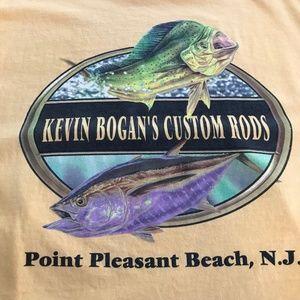 Kevin Bogan's Custom Rods Graphic T-Shirt XL
